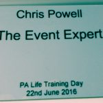So what's in a event name…badge